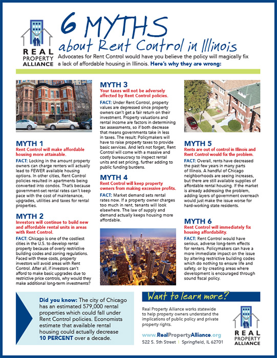Rent Control | The Voice For Illinois Property Owners - Real